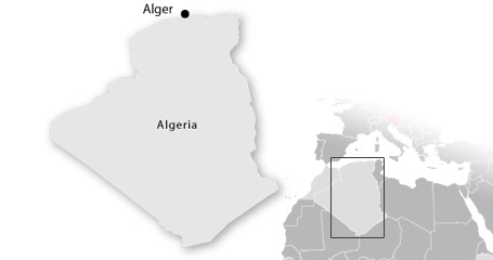 map algerien
