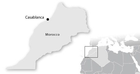 map marocco